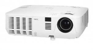 nec projector VE